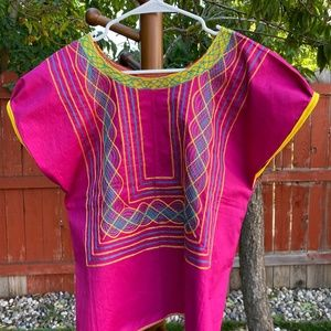 MEXICAN CLOTHING Tops - HUIPILES, MEXICAN BLOUSES